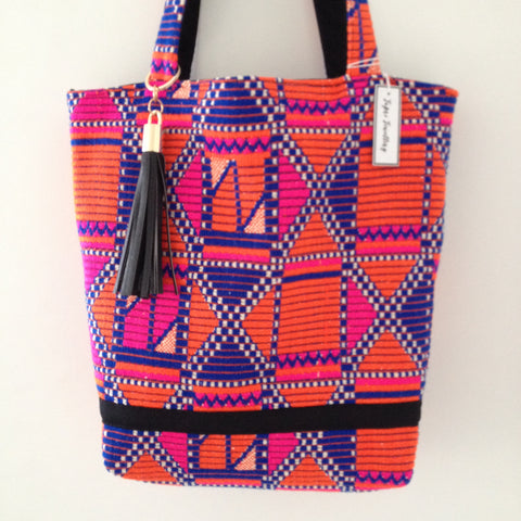 Bright geometric Tote Bag - Japri