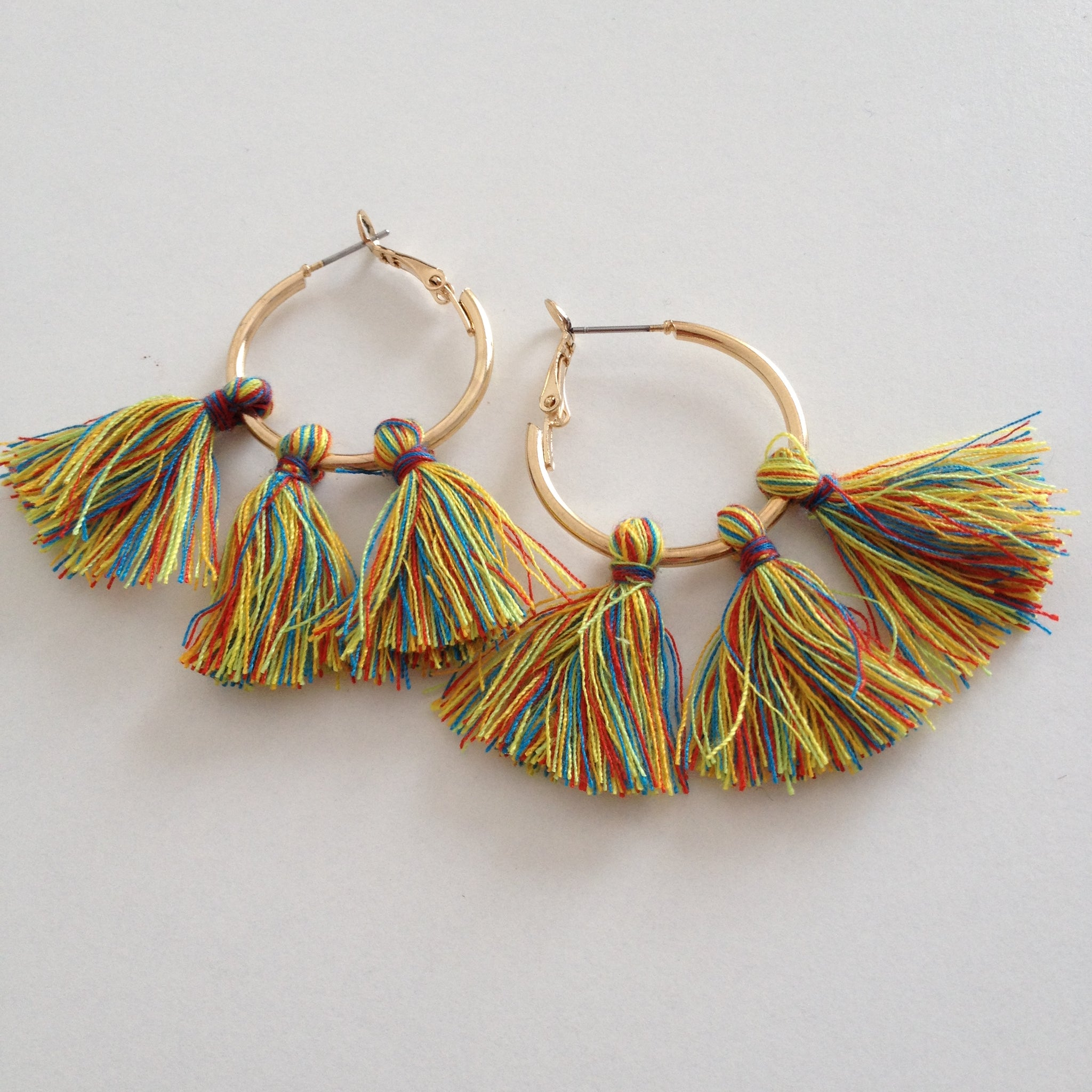 Triple Fringe Earrings - Japri