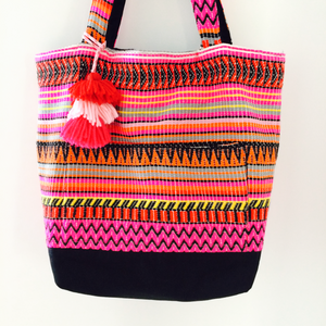 Pretty in Pink Tote Bag - Japri