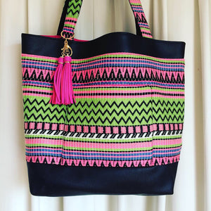Lime Pop Tote - Japri