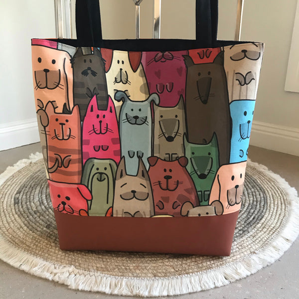 Quirky Dogs Tote