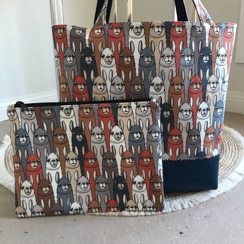 Llamas Bag Set