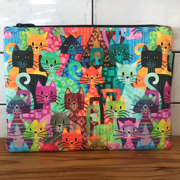 Cats Galore Large Clutch