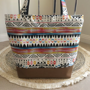 Lines of Colour Tote