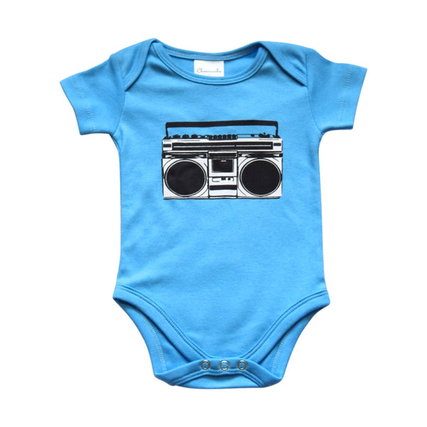 retro romper for infants, cheesecake
