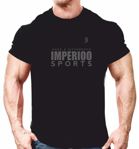 T-shirts Imperioo sports make the difference Kampanj Black