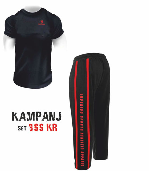 Kampanj Maj T-shirt + Mesh Pants [kampan may]