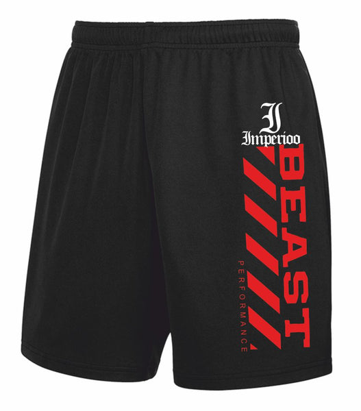 Beast performance shorts röd shorts-63