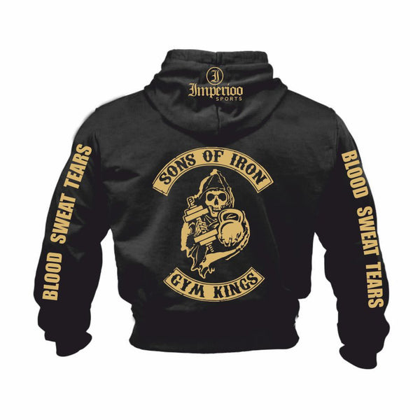 Sons of iron gym kings hood SW-386