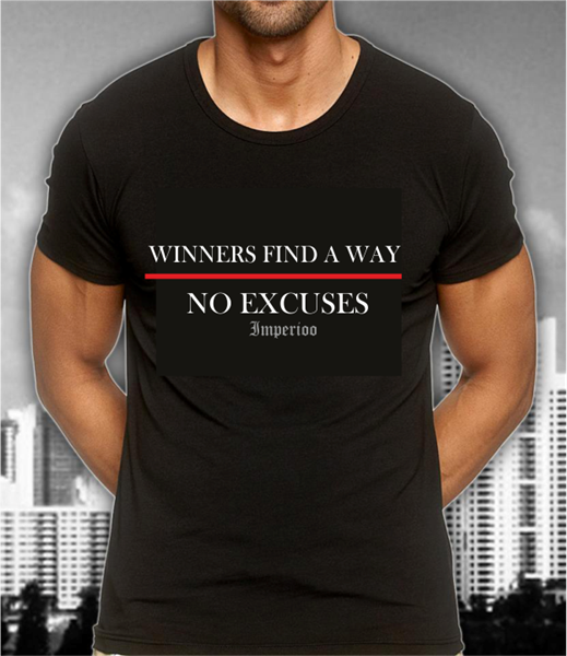 WINNERS FIND A WAY NO EXCUSES [TS-328]  SEK:149:-,