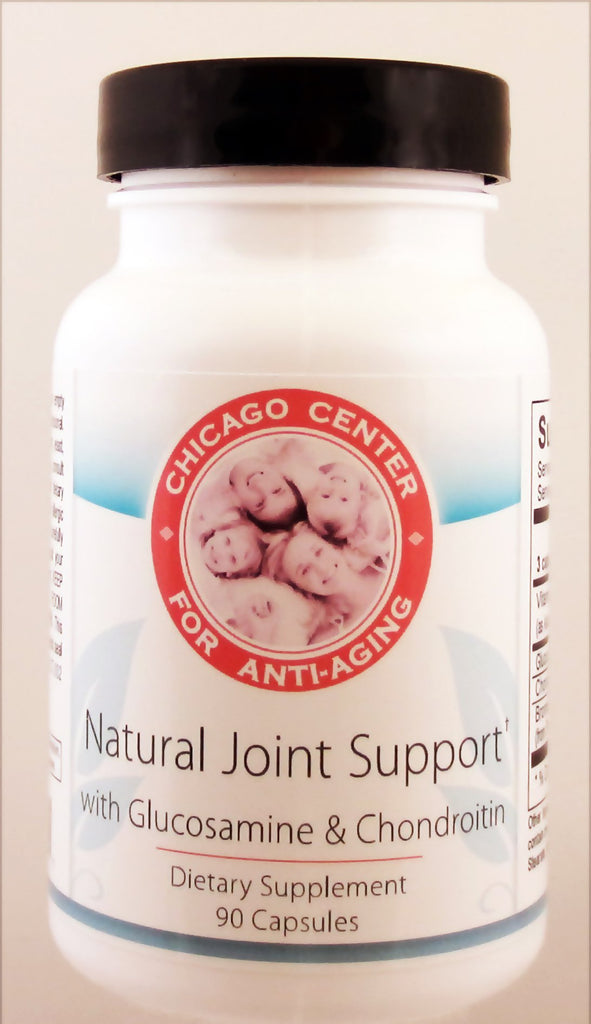 Natural Joint Support With Glucosamine & Chondroitin Dietary Supplement 90 Capsules