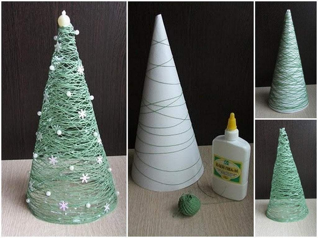 Simple DIY for Christmas Decoration
