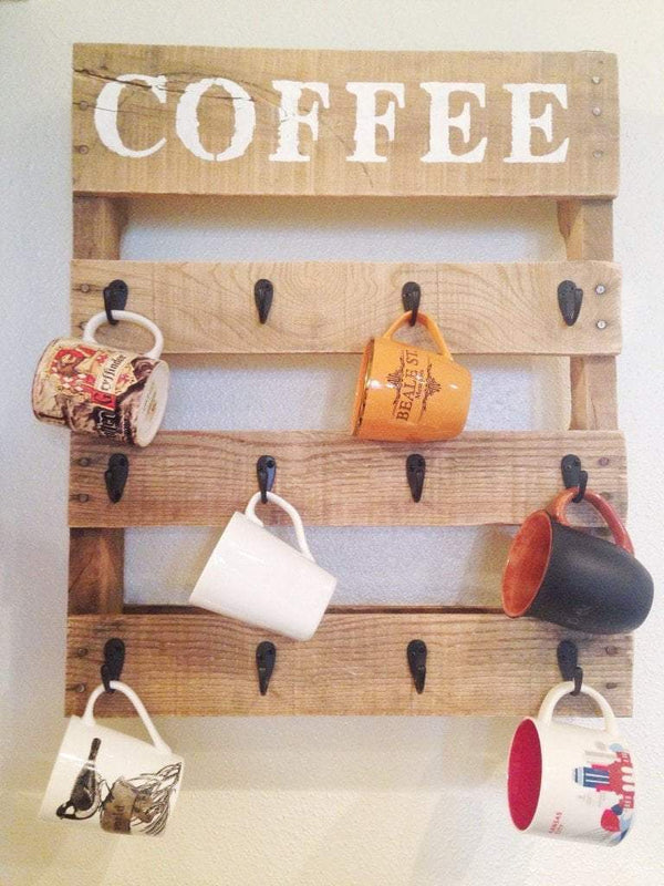 DIY - Pallet Coffee Cup Holder