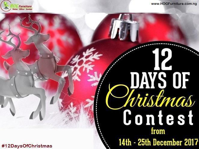 12 Days of Christmas is Here Again!