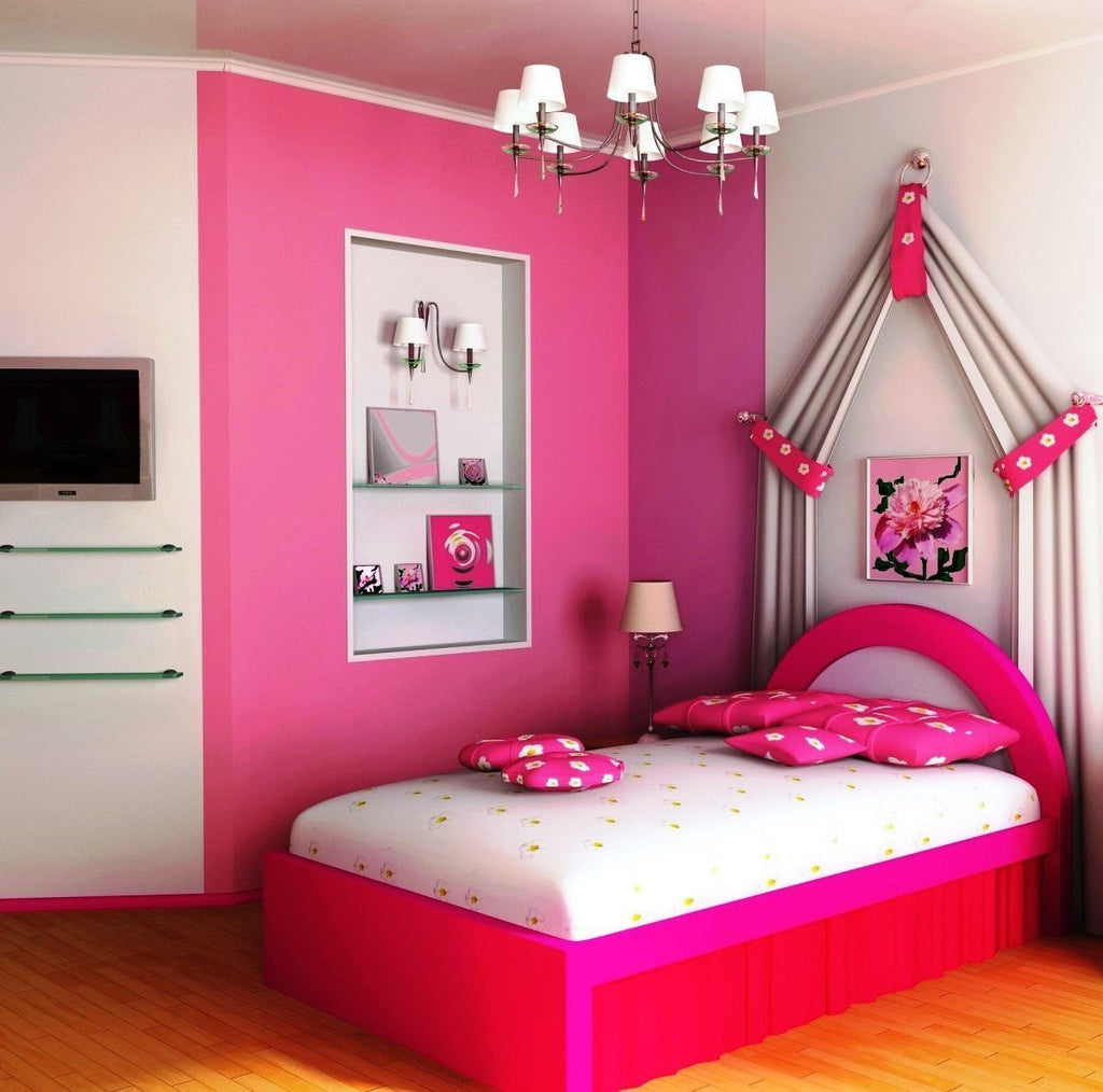 Decorating The Dream Room Of A Teenage Girl