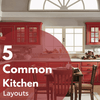 5 Common Kitchen Layout & Shapes