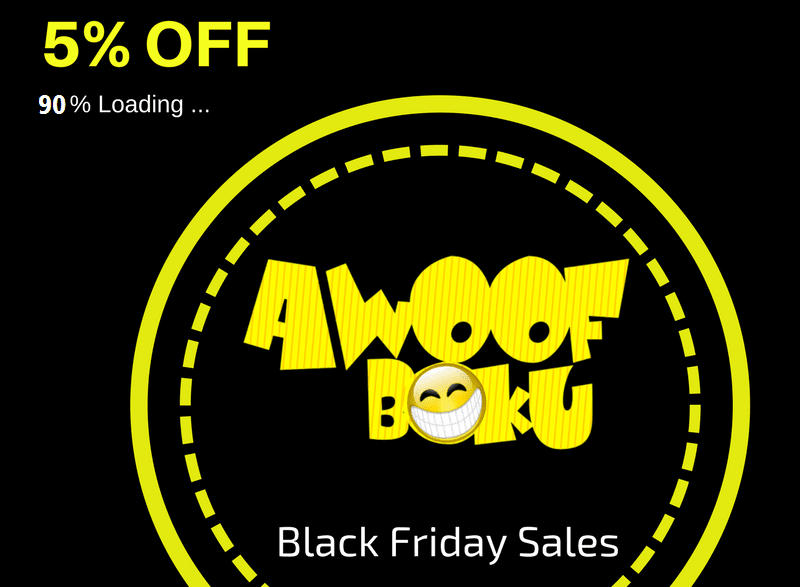 HOG Furniture AWooF BokU (Black Friday Sales) is 30 days from now