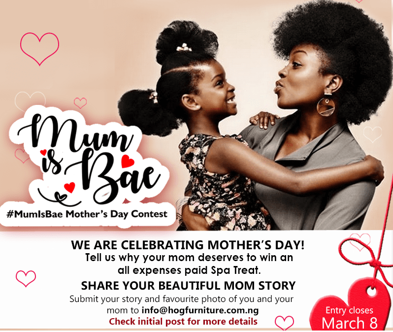 #MumIsBaeContest - Mother's Day Contest