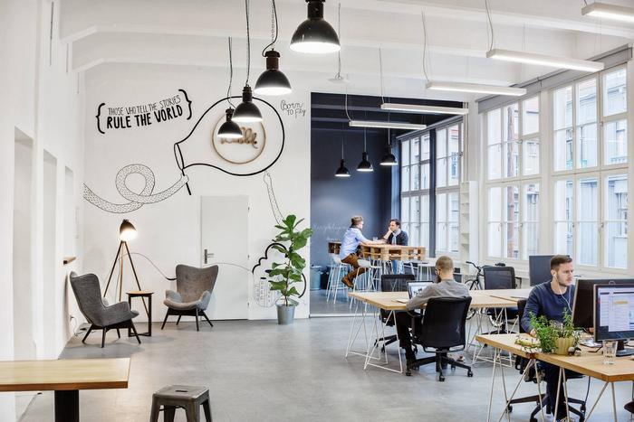 Adorable office interior designs
