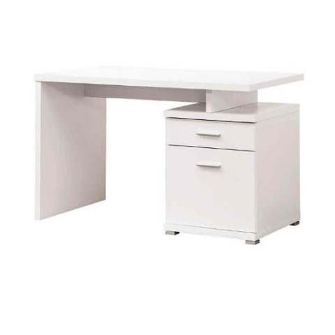 1.2 Metre Wood Office Desk-White