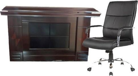 1.4m Office Table & Chair
