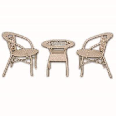 2 Seater Wicker Garden Set