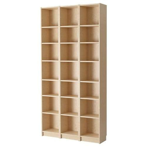 21 Tier Wooden Shelf Beech Bookcase Shelving Storage Display Rack