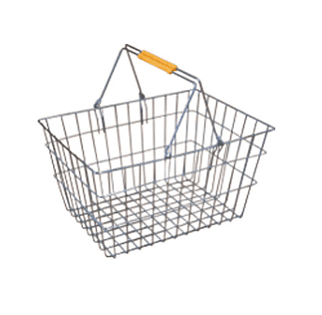 25L Metal Shopping Baskets