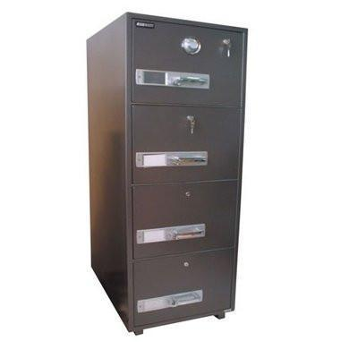 4 Drawer Fire Proof Safe + Dial