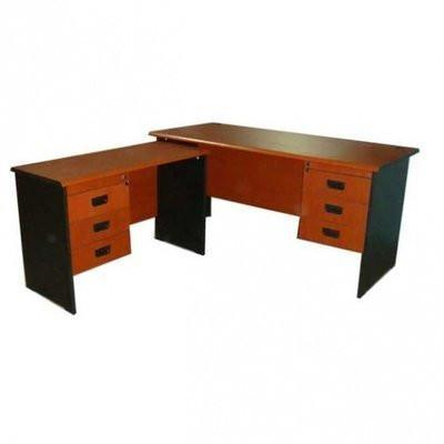 5 Feet Office Desk With Extension cherry – 3 Feet