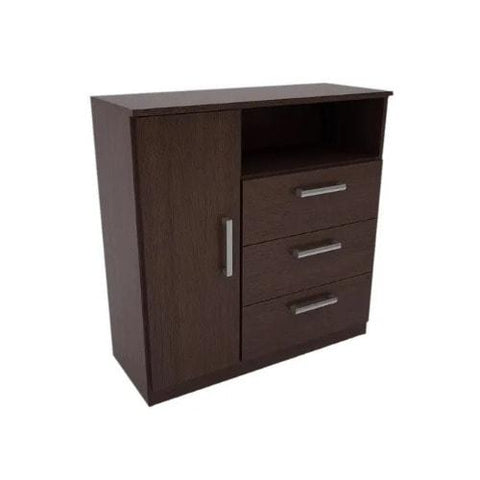 6 Compartment Laminate Wood Cabinetry -Wenge