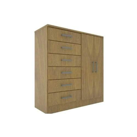8 Compartment Laminate Wood Cabinetry