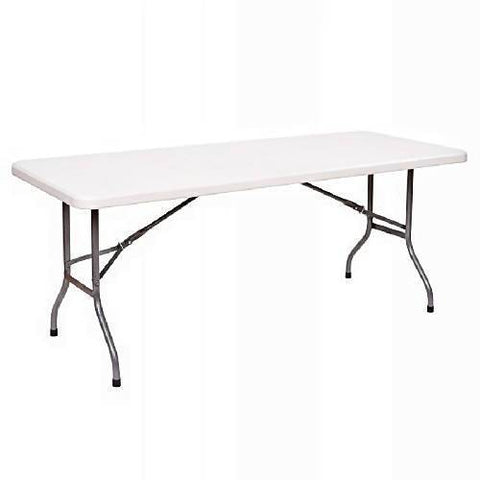 8-seater Plastic Table-XE4