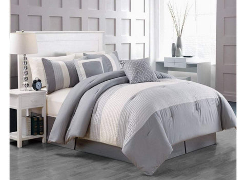 9pc Bedding Set with Duvet covers & 6 pillow cases-WLG