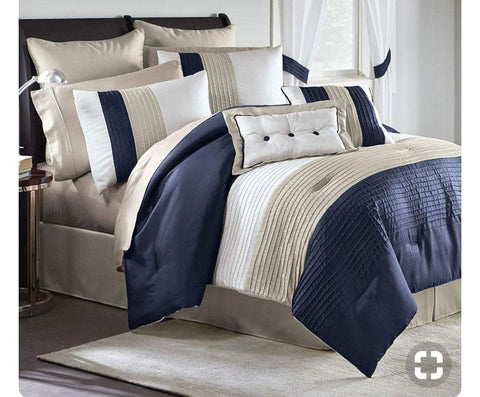9pc Bedding Set with Duvet covers & 6 pillow cases-WSDB