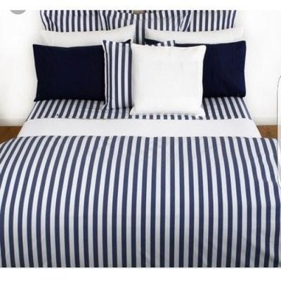 A&S Striped Bedding Set - Blue & White