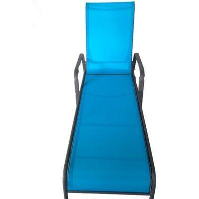 Abaco Blue Tone Sling Chaise