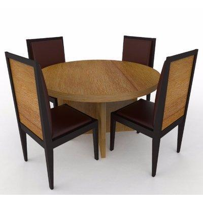 Aden Series Dining Set-Golden Brown