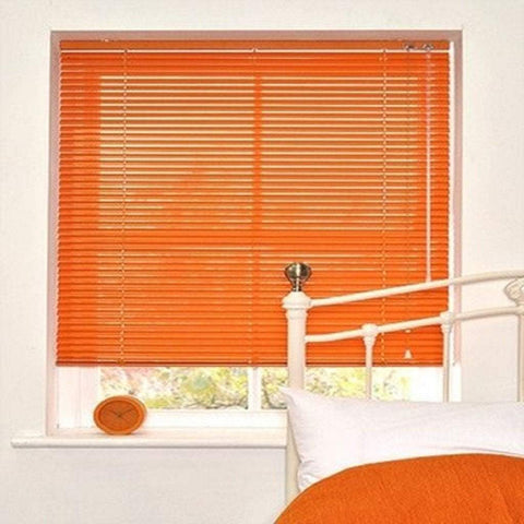Aluminium venetian blind-Orange