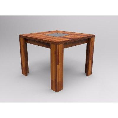 Alvar Series Dining Table -Teak Pattern