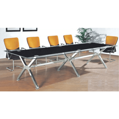 Arko Glass Conference Table - 3mtrs