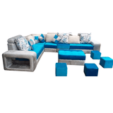 Armony Reversible Sofa with Ottoman