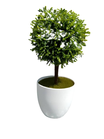 Artificial Bonsai Flower with Pot (SMALL)