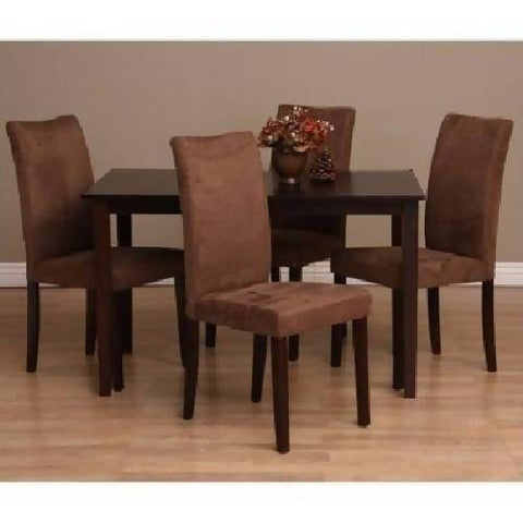 Bax Dining Set - Coffee Brown - 5 Piece
