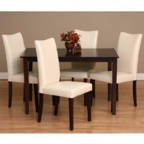 Bax Dining Set - Neutral - 5 Piece