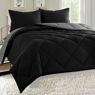 Bedding Set - Black & Ash