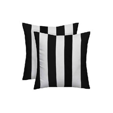 BLACK AND WHITE TROW PILLOWS