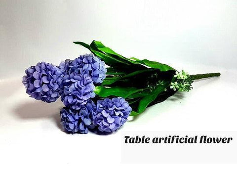 Blue Artificial Table Flower for Vases