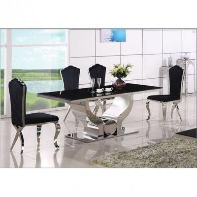 Bolini Marble Dining Table + 6 chairs
