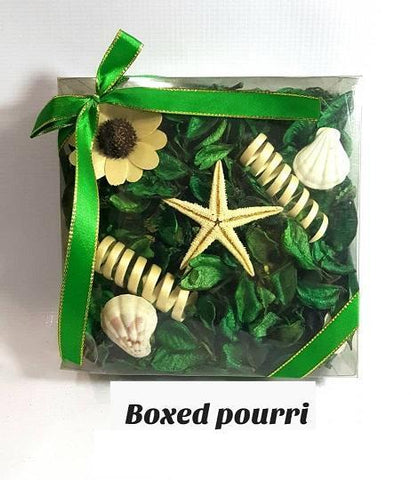 Boxed Green Potpourri